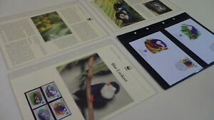 2002 Aitutaki WWF stamps and first day covers with blue lorikeet information.