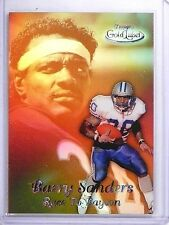 1999 Topps Gold Label Race to Payton Black Barry Sanders #R8 *63476
