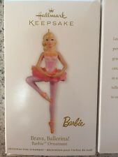 Hallmark KEEPSAKE~ Brava~Ballerina! Barbie Christmas Ornament NIB-NEVER OPENED