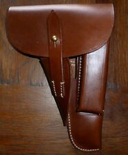 Holster cuir BROWNING HI POWER HP 35 / GP 35 marquage gsy19 MILITARIA WW2 GP35