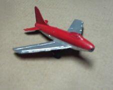 """Tootsietoy jet, 3 3/4"""", original."""