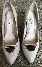 Zapatos de Mujer Talla 6 Clarks Kendra Centavo Negro Cuero