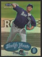 1999 FLEER MYSTIQUE #132 FREDDY GARCIA PROSPECTS – ROOKIE CARD   /2999