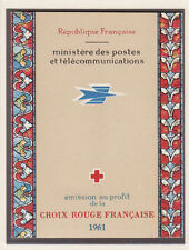 timbres France carnet croix rouge  1961 **