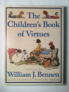 The Childrens Book of Virtues Hardcover Excellent Condition