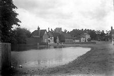 1910s CHALFONT ST GILES #2 Village Antique Photographic Glass Negative (Bucks)