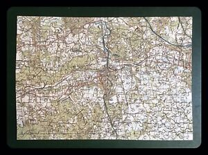 Wentworth Wooden Jigsaw Puzzle Landranger Map Dorking Surrey Complete with Box