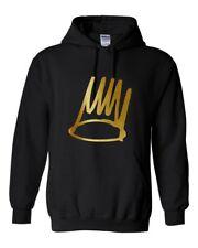 Customise BORN SINNER J.COLE GOLD Hooded Sweatshirt HIP HOP HOODIE