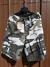 Camouflage Marines Army Ranger Vintage Infantry Military Utility Cargo Shorts, S