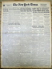 2 1934 NY Times newspapers Gangster JOHN DILLINGER ESCAPES from INDIANA JAIL