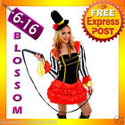 J67 Ringmaster Mistress Circus Lion Tamer Showgirl Fancy Dress Costume Outfit