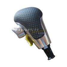 Pour Audi A6 S6 4F C6 Original RS6 DSG Cuir Levier de Vitesses Bouton Aluminium