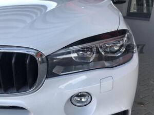 Fits Bmw X5 F15 - Eye Brows Head Light Cover Set