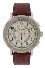 Gigandet Herrenuhr Red Baron IV Uhr Armbanduhr Leder Braun Beige G19-001