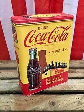 Coca-Cola Drink in Bottles - Tin Box XL