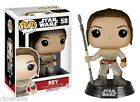 Figura vinile Rey Star Wars VII Pop Funko bobble-head Vinyl figure n° 58