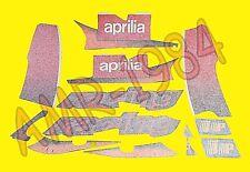 SERIE ADESIVI DECALCO CARENE APRILIA RS 125 2002 NERO DIABLO  8177067