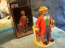 Emmett Kelly Jr. Signature Collection 6 Inches W/ Box by Flambro Horn& Case