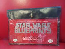 Star Wars Original Blueprint Set-15 Sheets in Pouch-UNUSED 1977