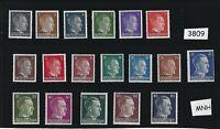 MNH Complete stamp set / Ukraine Overprints / Adolph Hitler / Third Reich / WWII