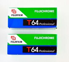 2 Rolls Fujichrome 64T  Color Tungsten Slide 120 Film _ Kept Frozen.
