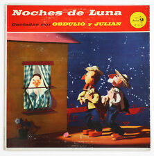 OBDULIO Y JULIAN Noches de luna bambuco pasillo colombia sonolux LP-12135 LP