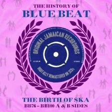 History Of Blue Beat-The Birth Of Ska BB76-BB100 A & B Sides 3-CD NEW SEALED