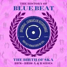 History Of Blue Beat-The Birth Of Ska BB76-BB100 A & B Sides 3-CD NEW SEALED