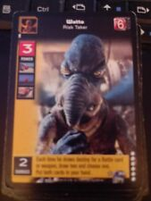 Young Jedi TCG Enhanced Battle of Naboo Watto, Risk Taker Non-MInt