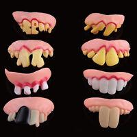 Joke Teeth False Teeth Rotten Teeth Party Bags Fancy Dress April Fool's Day UK
