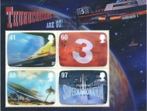 (#1313) GB Stamps 2011 'Gerry Anderson - Thunderbirds' - MNH MINI SHEET