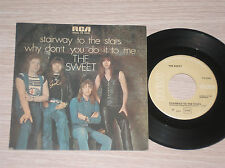 "THE SWEET - STAIRWAY TO THE STARS - 45 GIRI 7"" UNIQUE COVER ITALY"