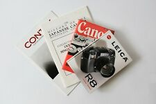 New listing Vintage Camera Book & Brochure Lot: Canon, Leica, Olympus, Contax