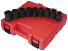 "Sunex Tool 4687 9 Piece 3/4"" Drive Standard 12 Point Impact Socket Set"