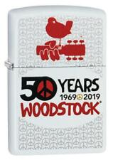 Zippo Windproof Lighter Celebrates Woodstock's 50th Anniversary 49012 New In Box