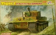 Dragon 1/35 Pz.Kpfw.Ⅵ Ausf.E Tiger I Late Production w/ Zimmerit 6383