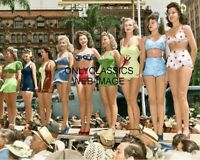 1942 MISS VICTORY BEAUTY CONTEST 8X10 COLORIZED PHOTO VINTAGE PINUP CHEESECAKE
