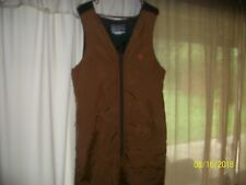 Vintage Arctic Wear Men's Snowmobile Bibs Quilted Lined Size M Made In U.S.A.