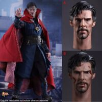 1/6 Scale Benedict Cumberbatch Head Sculpt Model Toy For 12'' Male Action Figure