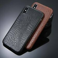Luxury Ultrathin Leather Soft Silicone TPU Case Cover For iPhone 5 6S 7 8 Plus X