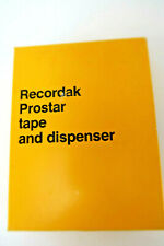 Vintage Kodak Recorak Prostar Tape & Dispenser New Ships Fast In A Secure Box!
