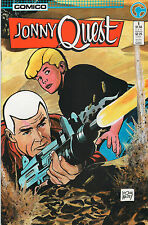 Jonny Quest #1 - Doug Wildey Cover - 1986 (Grade 9.2+)