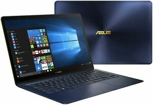 "ASUS Zenbook 3 Deluxe 14"" Laptop i7-8550U 16GB 512GB SSD Blue UX490UAR FOR PARTS"