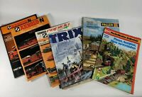 Train Model Railroad Catalogs 6 Reference 1972-86 Arnold-N, Rapido, Faller, Trix