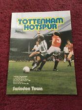 Tottenham V Swindon - 30-1-1980