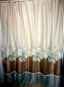 Croscill, full side nautical shower curtain