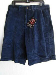 Men's Troy Lee Designs casual CORDUROY 155 SHORTS NAVY sz 38  2108-0838