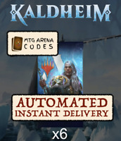 MAGIC MTG Arena Code Card: 6 Boosters Packs Kaldheim Prerelease (KHM) - INSTANT