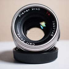 CONTAX G Carl Zeiss 45mm f/2 Planar T* Lens for G1 or G2
