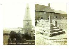 Kirkby-in-Ashfield - a larger format, photographic multiview postcard